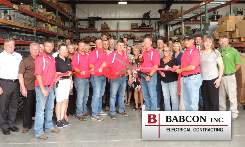 Babcon Ribbon Cutting and Open House