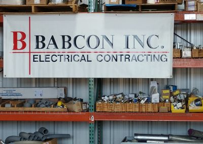 Babcon Electric Equipment Warehouse